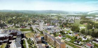 AF Gruppen bygger 87 leiligheter på Skedsmokorset