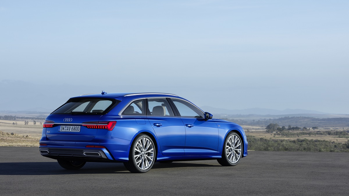 Audi A6 Avant bakfra