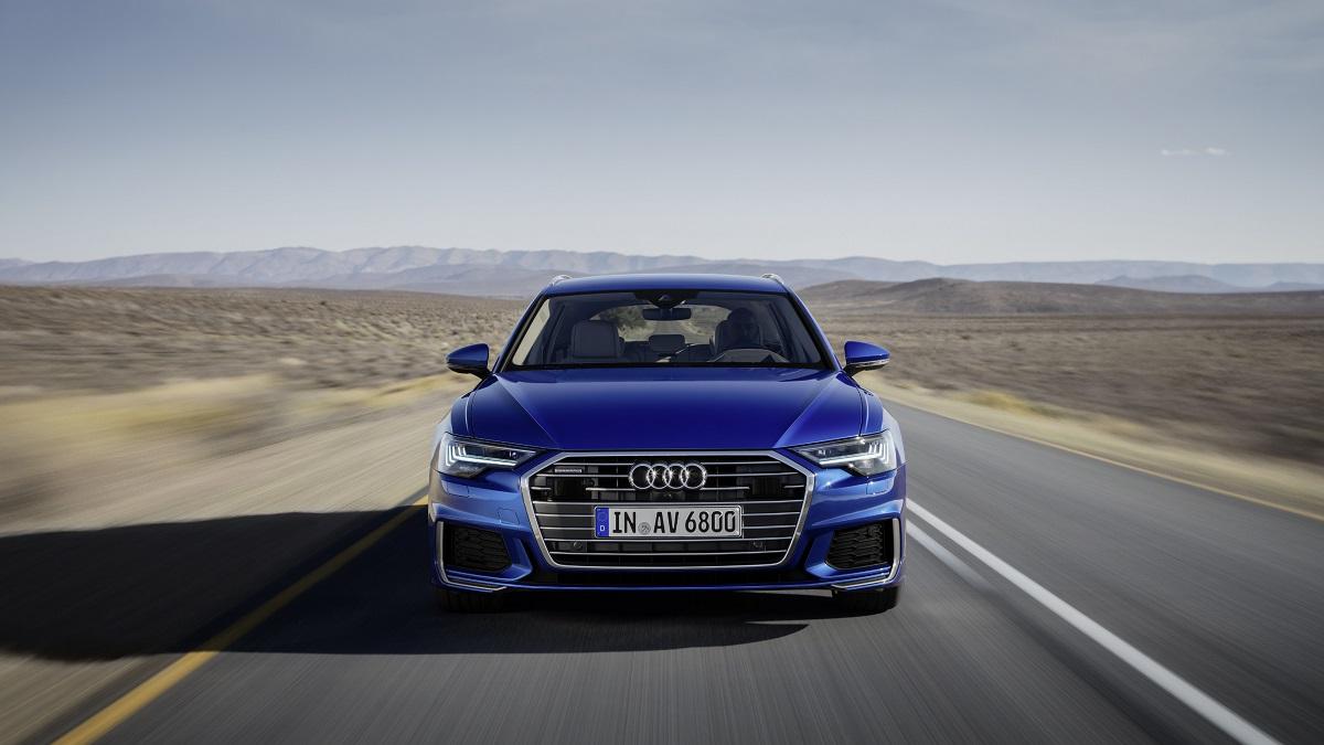 Audi A6 Avant front