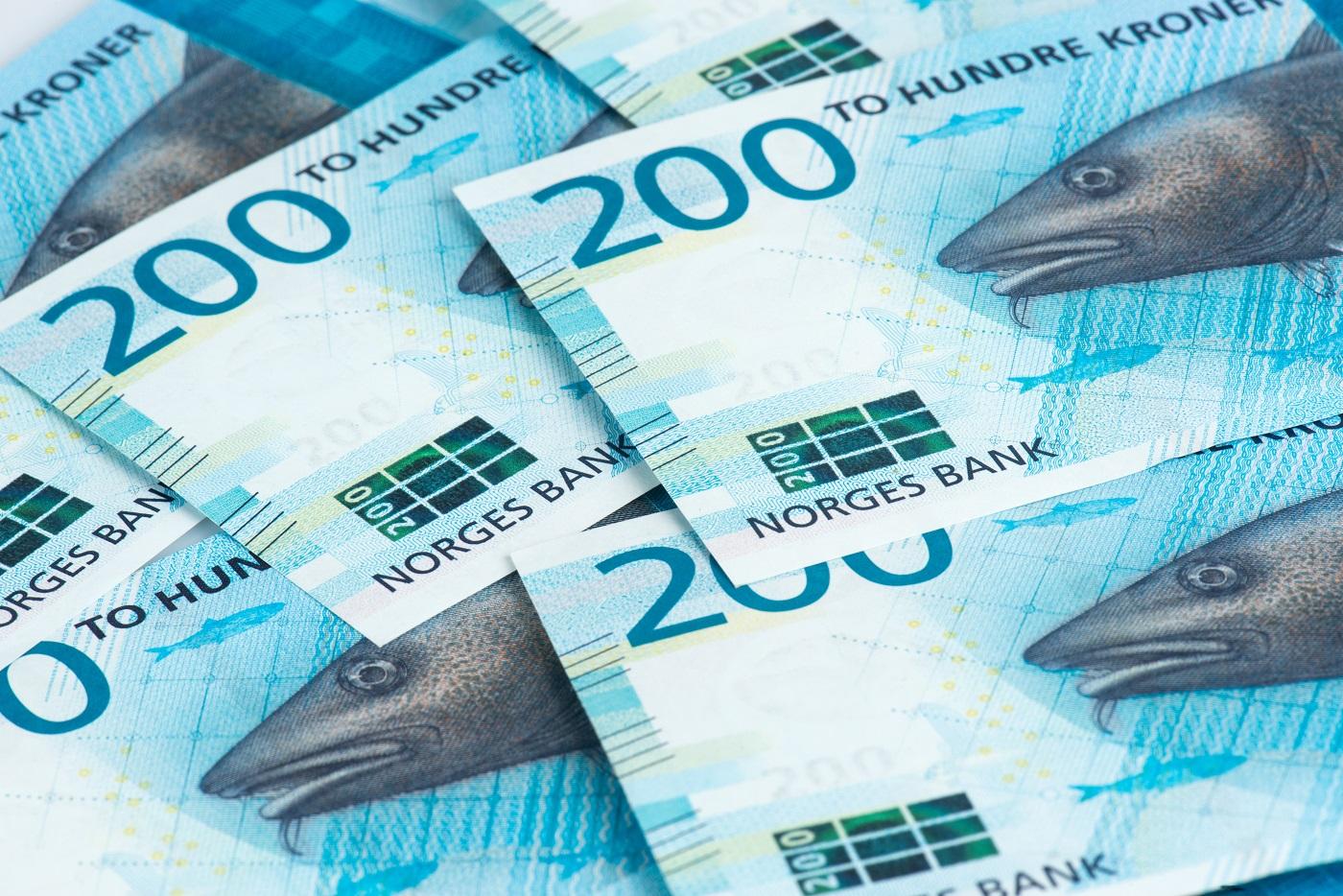 200 kroner sedler