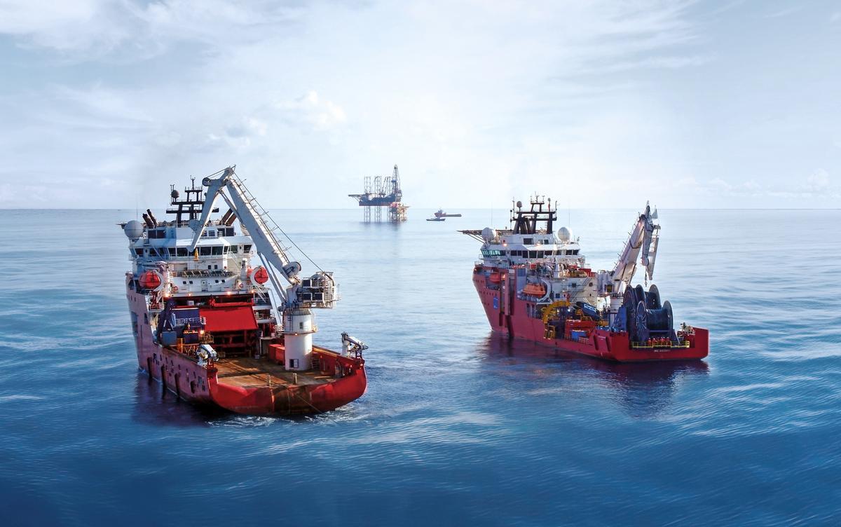 DOF Subsea - Skandi Singapore og Skandi Hercules