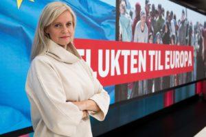 Nyhetsredaktør Karianne Solbrække i TV 2
