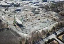 Arbeidet med Bertel O. Steens nye logistikkbygg på Berger har startet