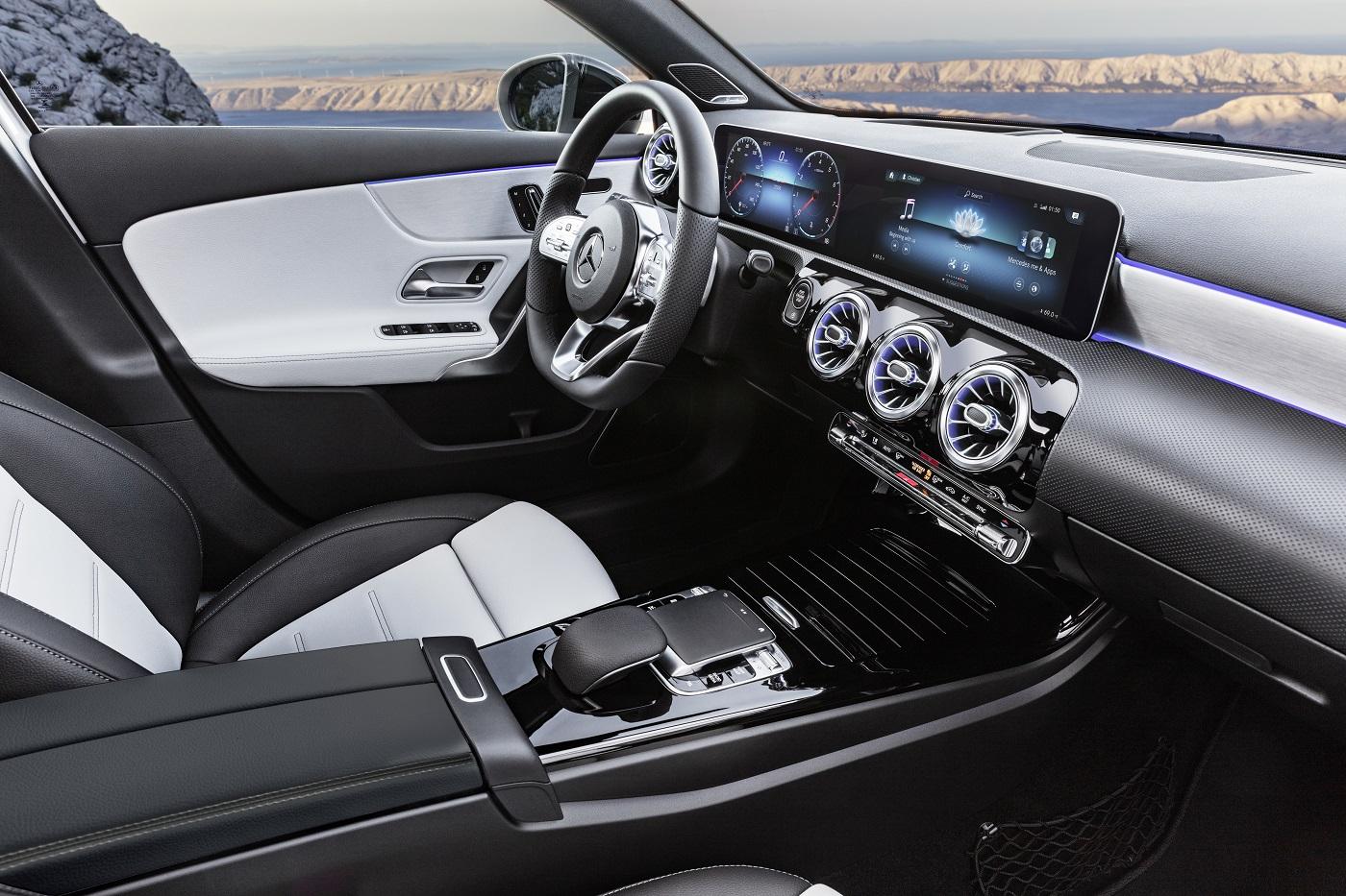 Mercedes-Benz A-Klasse førersete