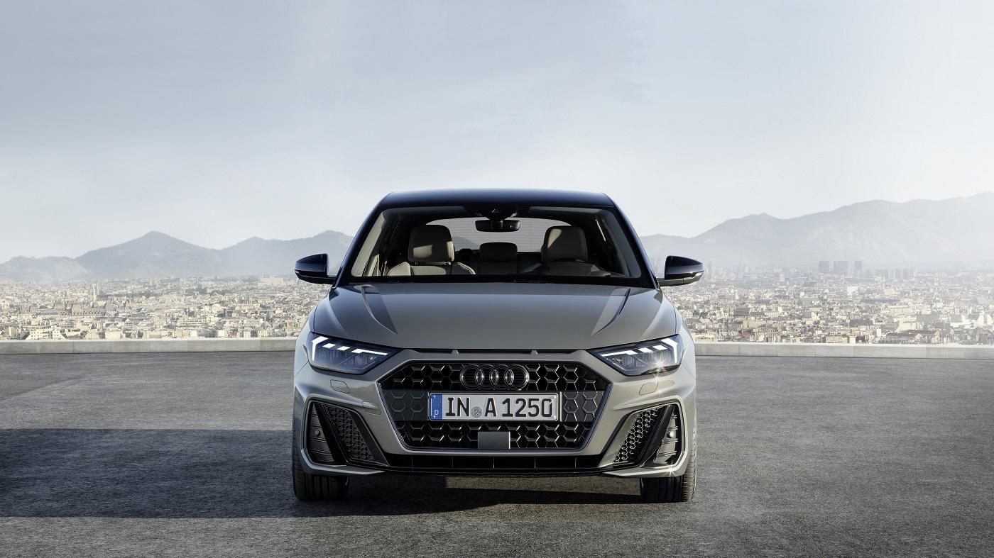 Nye Audi A1 Sportback Front