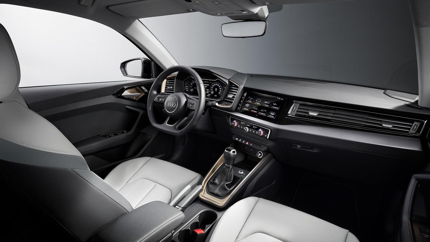 Nye Audi A1 Sportback Interiør