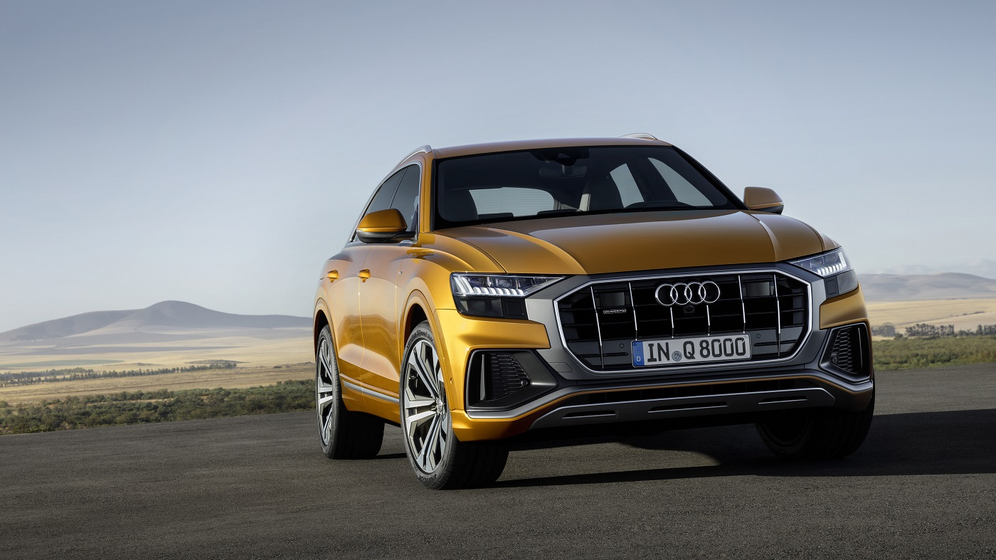 Audi Q8 – I front.