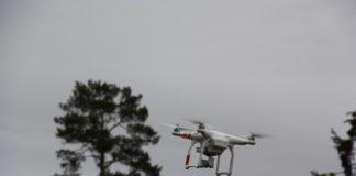 Drone i luften