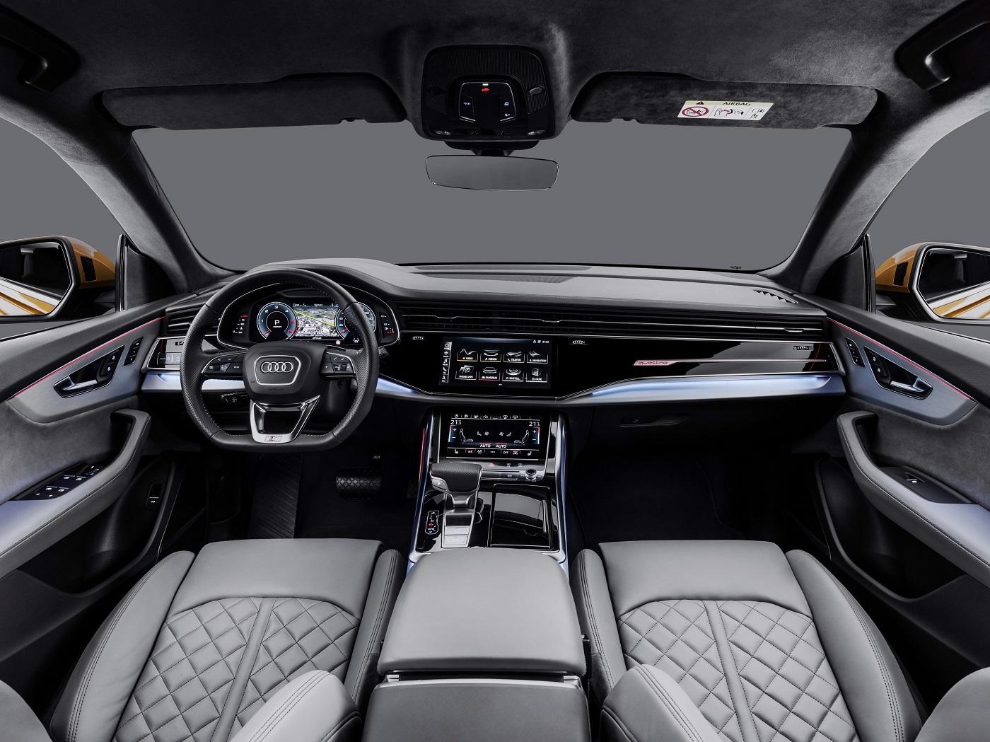Nye Audi Q8 - Interiør.