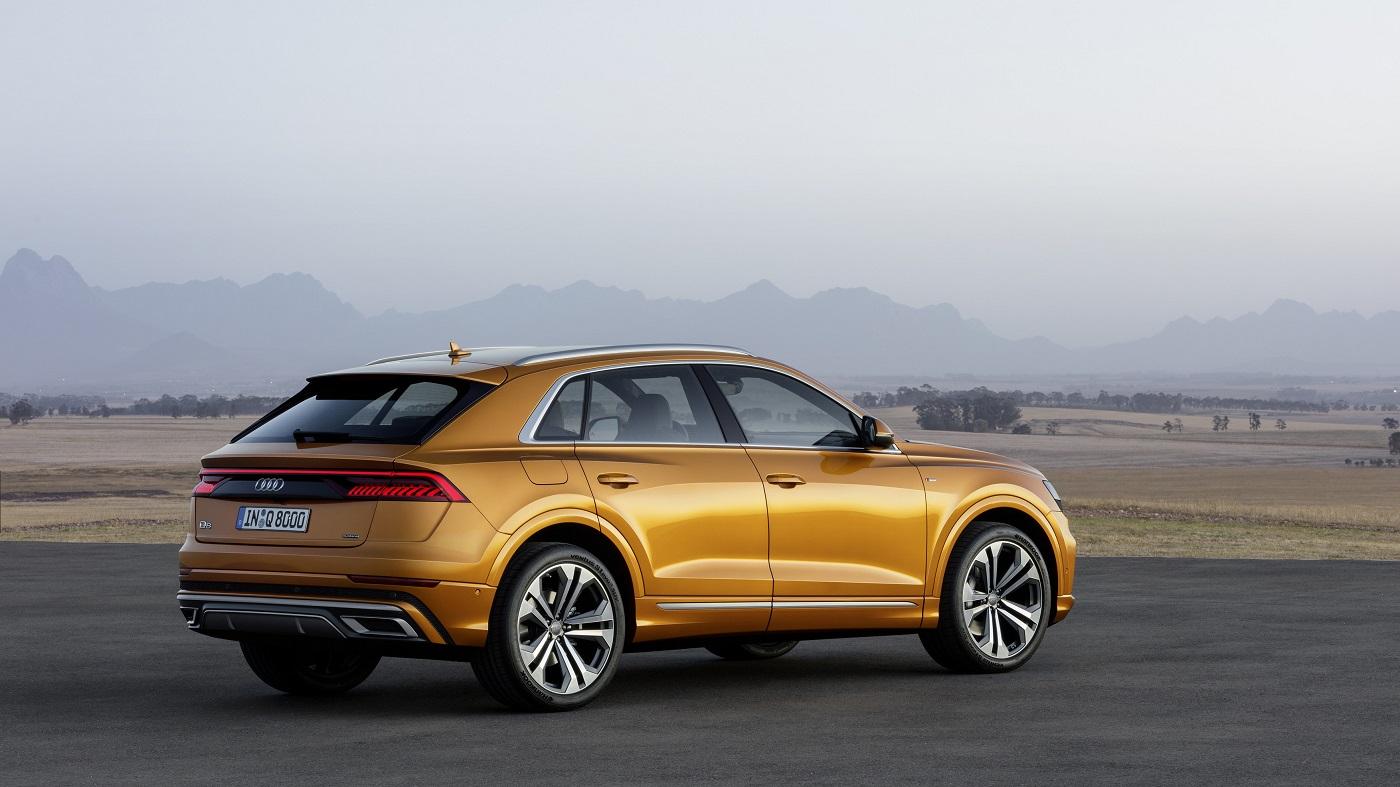 Nye Audi Q8.
