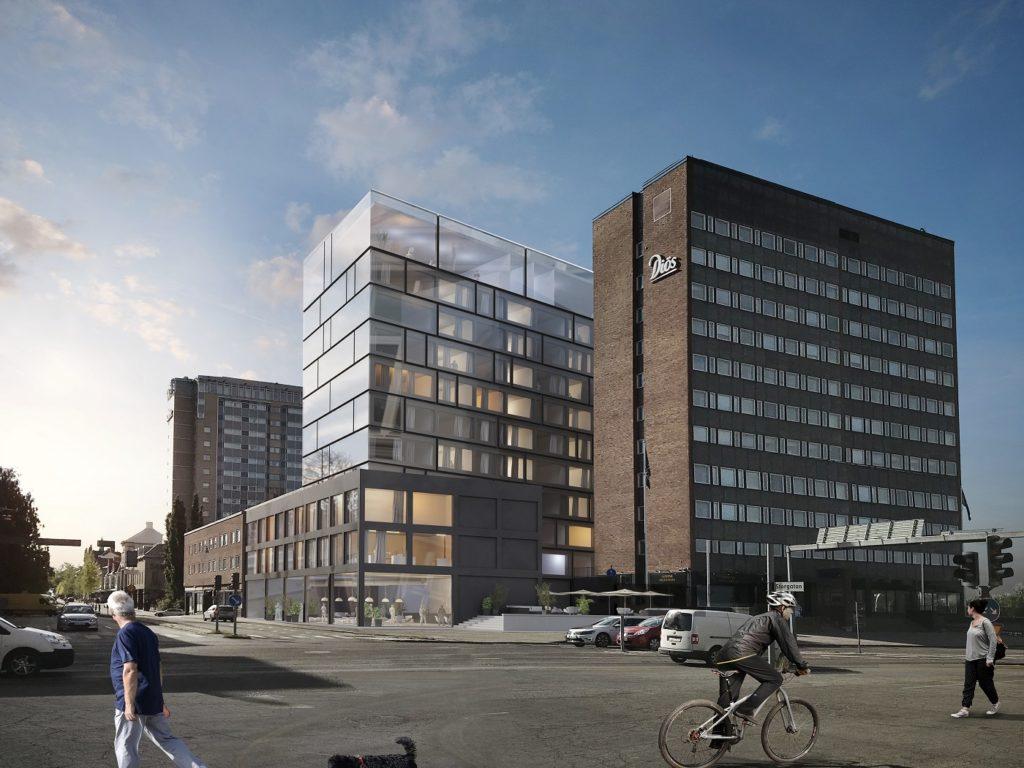 Nytt Clarion Hotel i Umeå