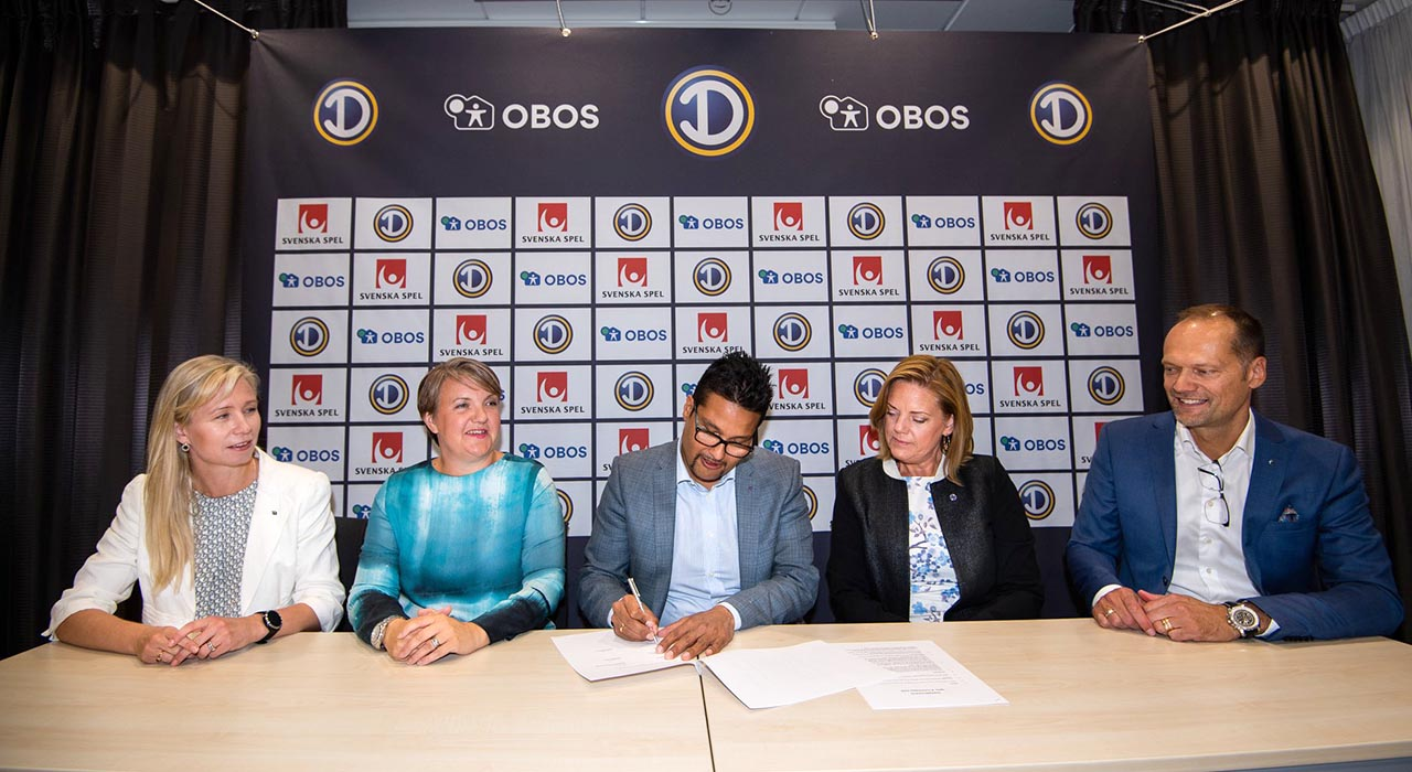 OBOS inn i svensk toppfotball