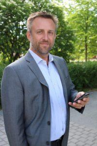 Cyberriskingeniør Peter Granlund