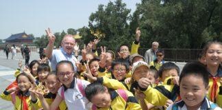 Fiskeriminister Per Sandberg i Kina i mai