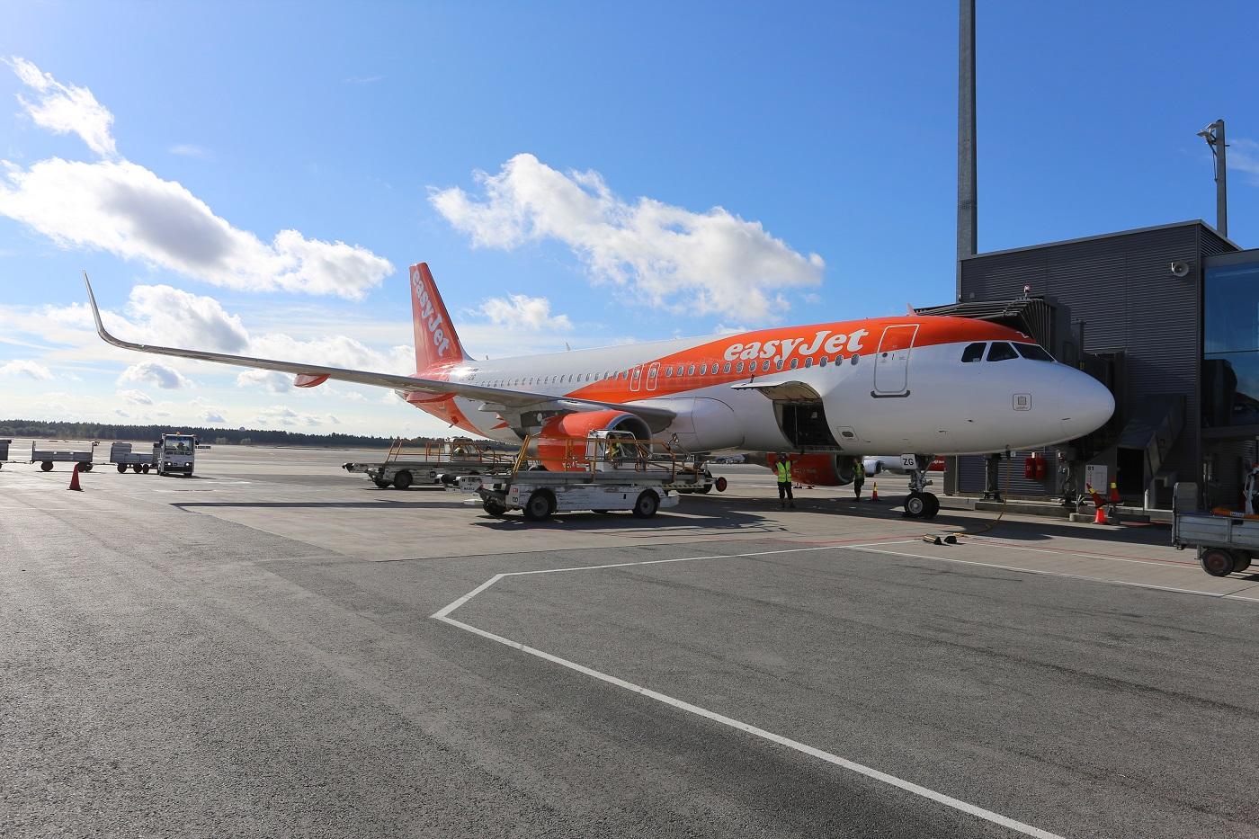 easyJet på Oslo lufthavn