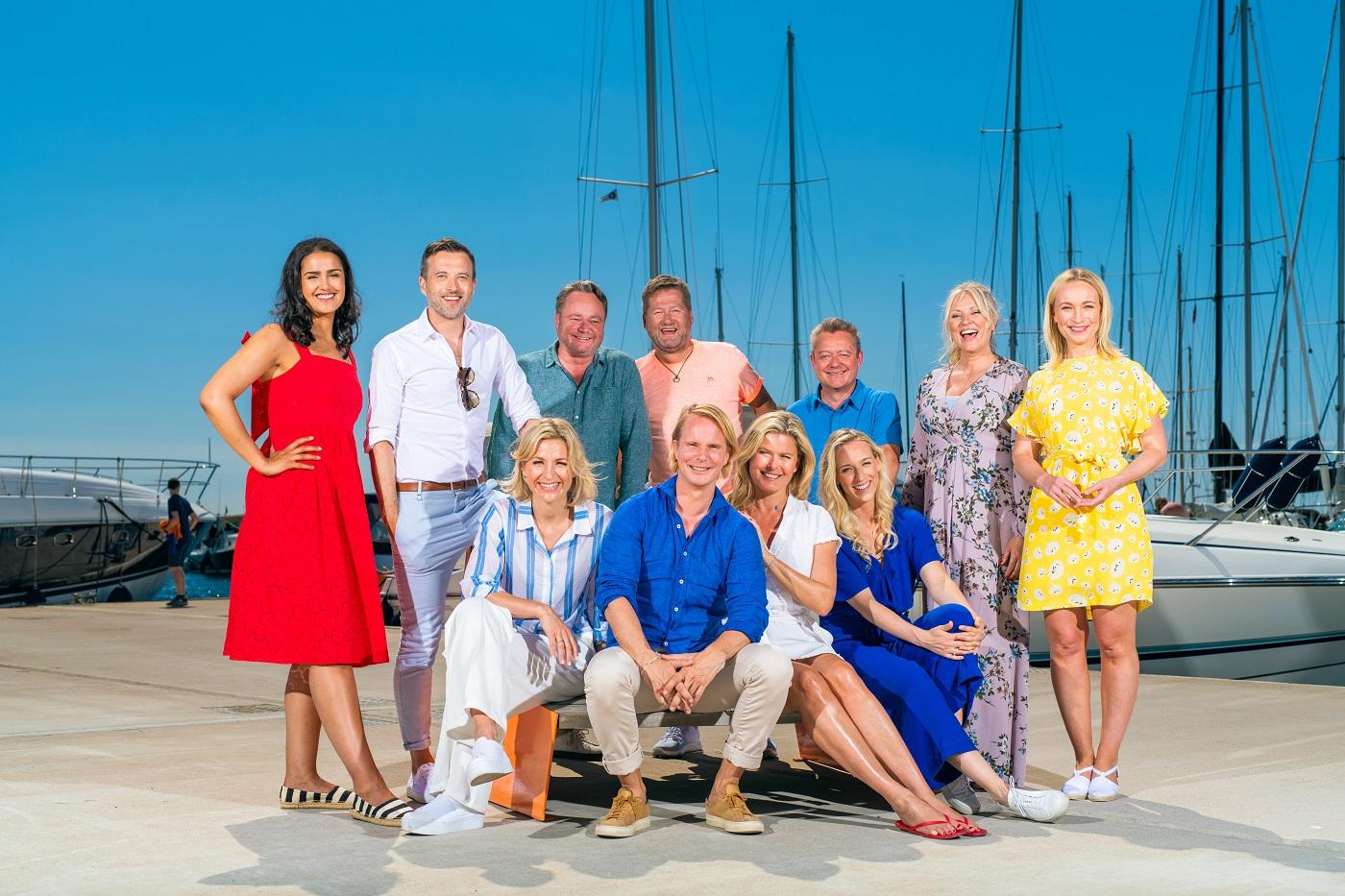 God sommer Norge, programledere og reportere.