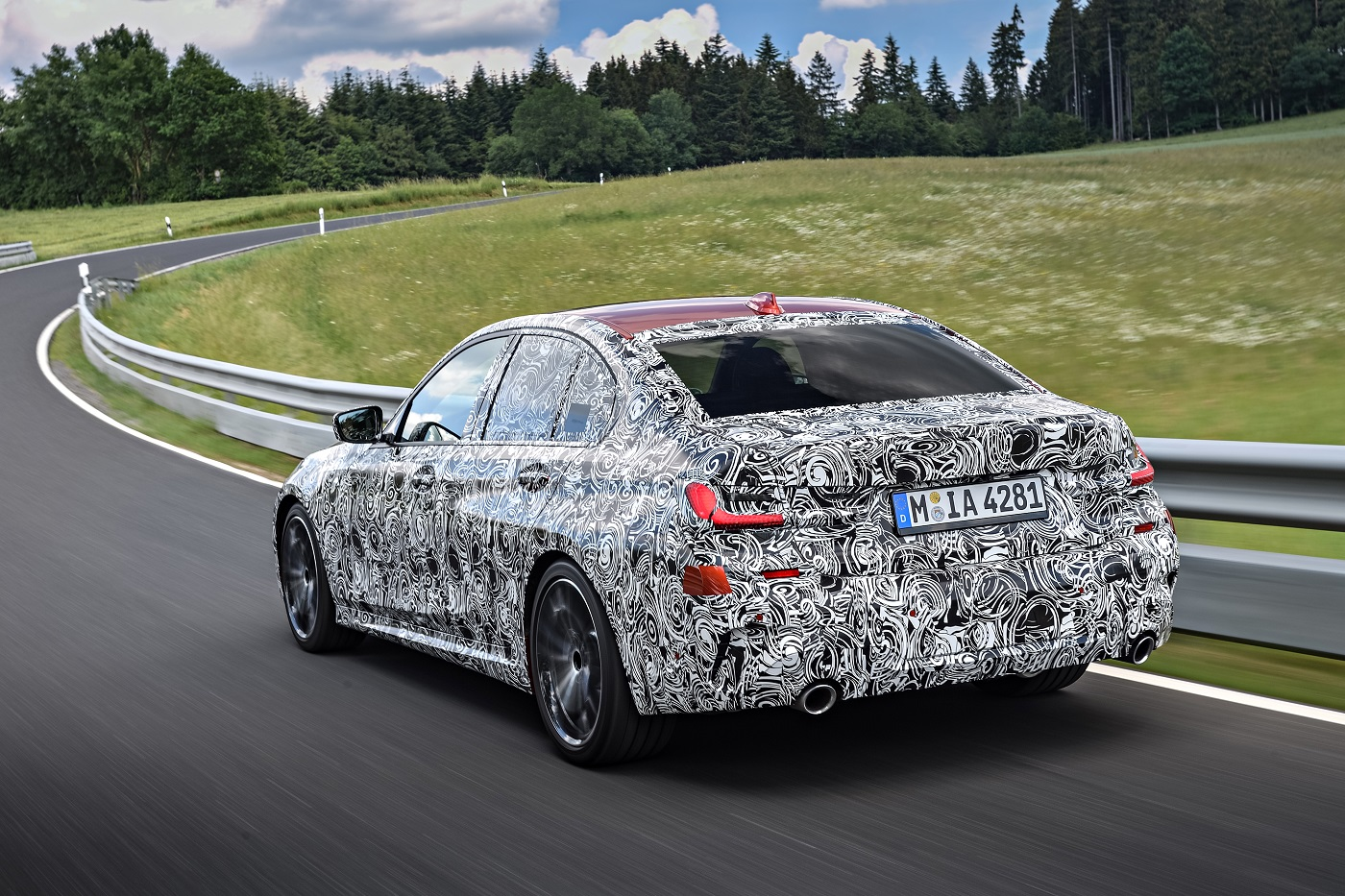 Helt nye BMW 3-serie Sedan - Bak