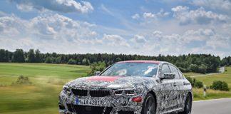Helt nye BMW 3-serie Sedan - Front