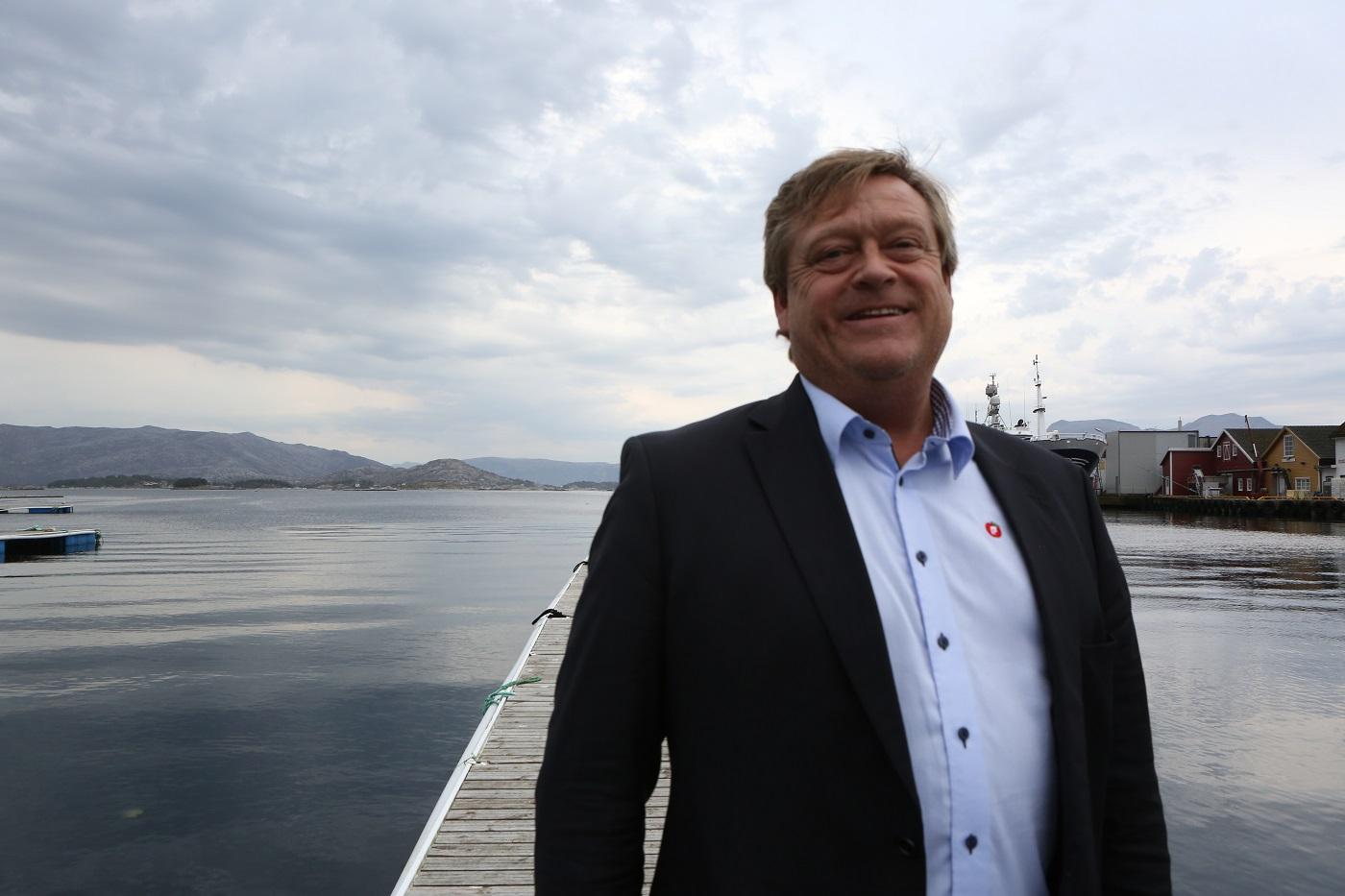 Fiskeriminister Harald T. Nesvik