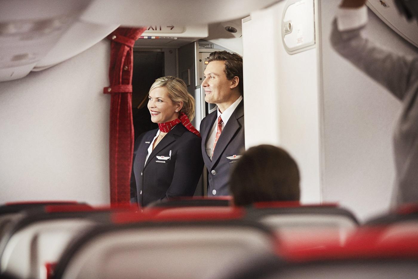 Kabinbesetning på Norwegian's Boeing 737 MAX