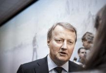 Konsernsjef i DNB, Rune Bjerke
