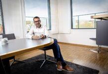 Steffen Syvertsen, konsernsjef i Agder Energi