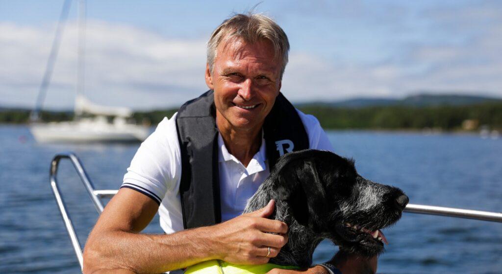 Atle C. Strøm, produktsjef for båt i If Skadeforsikring