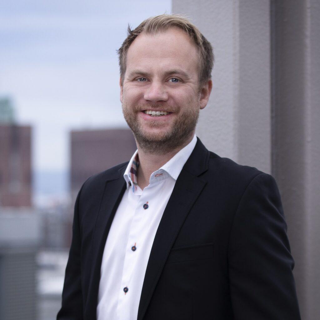 STOLT: Anders Lunde Angen, daglig leder i Helthjem Netthandel, er stolt over resultatene for 2020