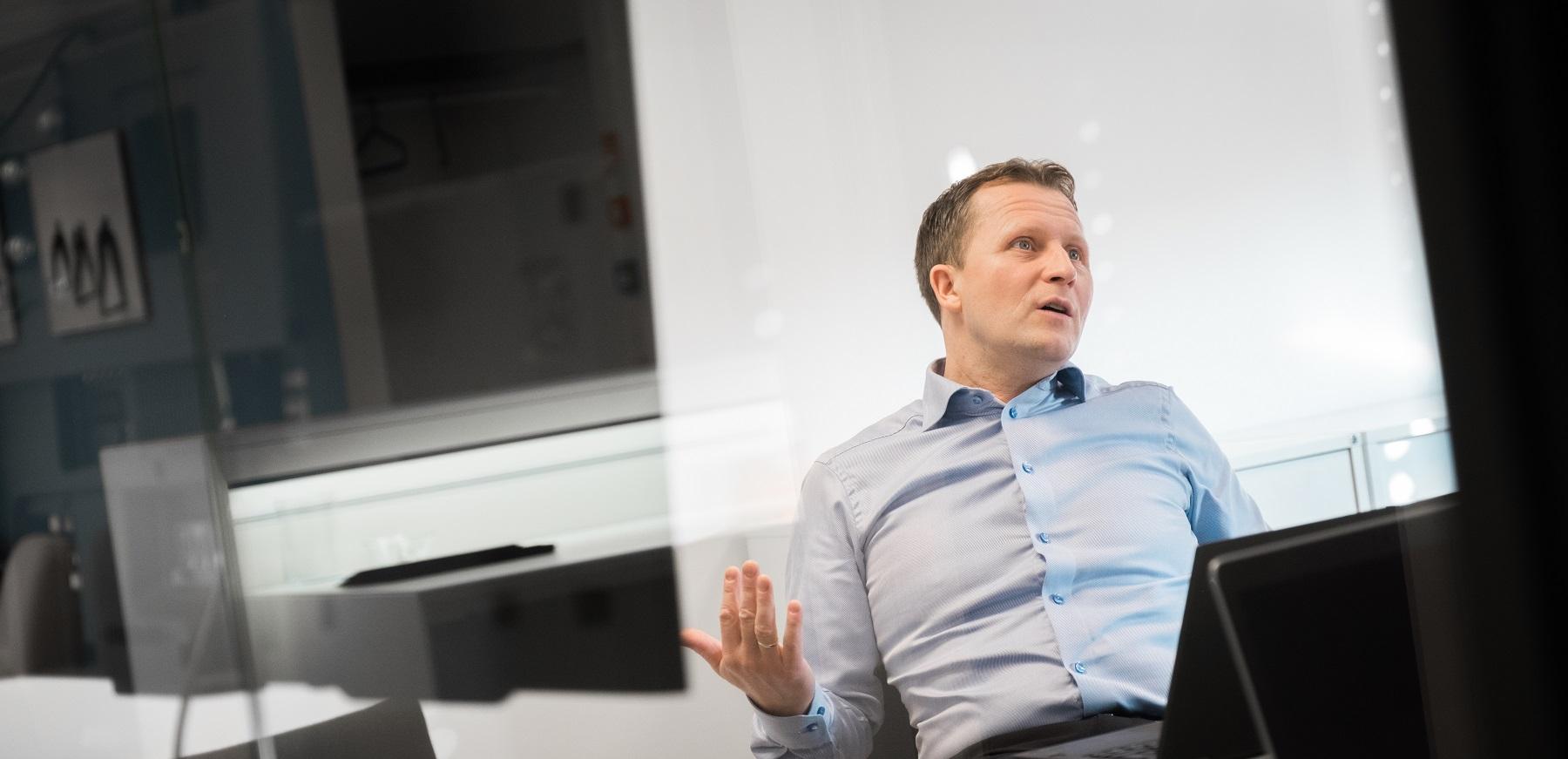 Administrerende direktør i BRAbank, Oddbjørn Berentsen